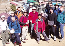 Trekking group 2005